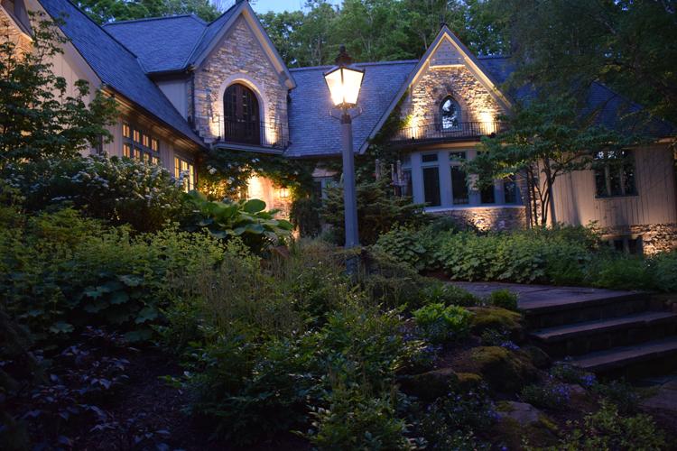 facade lighting Cleveland Ohio