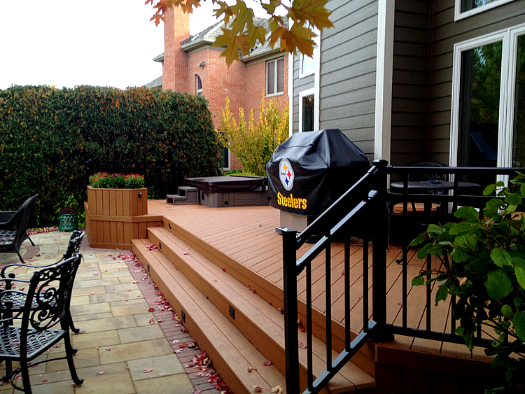 TimberTech deck in Barrington IL