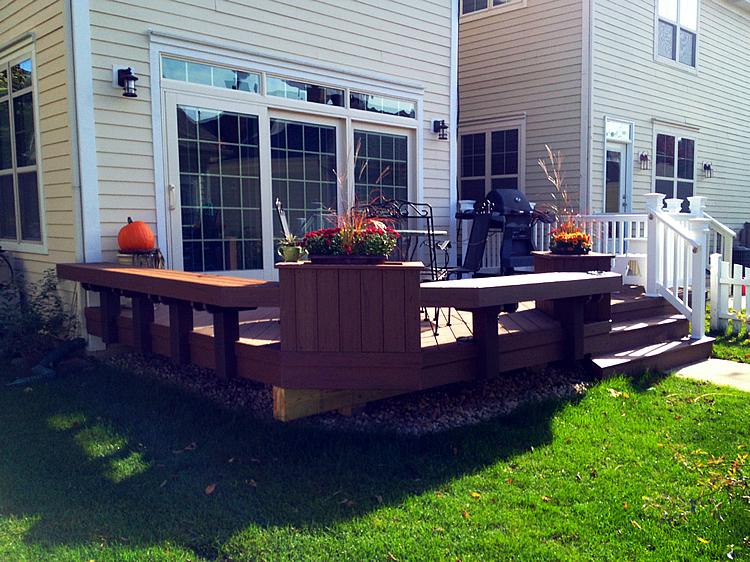 Orland Park IL TimberTech deck