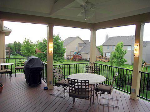 Lenexa covered porch