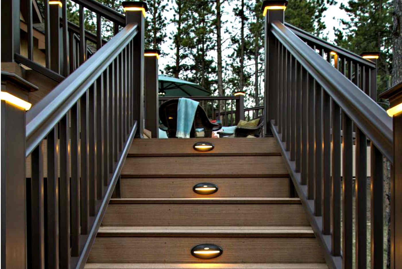 They Subtly Light The Path To Make Staircases Safe At Night. They Can Sit  On Each Step Or Be Staggered To Every Second.