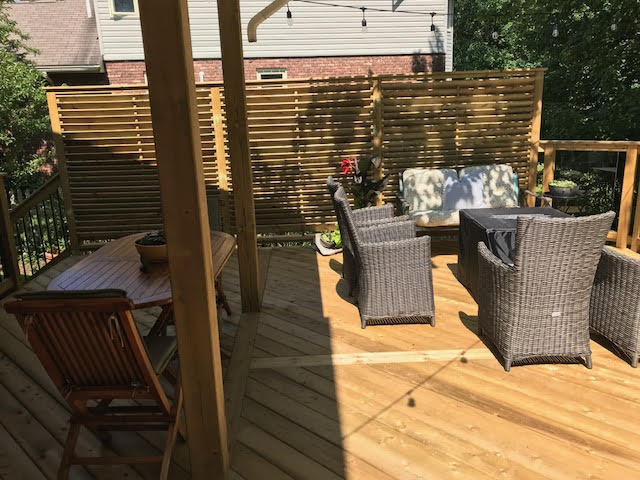 Dartmouth Pressure Treated Raised Deck