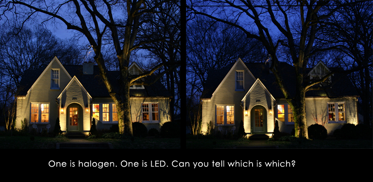 professionally designed outdoor lighting Raleigh NC