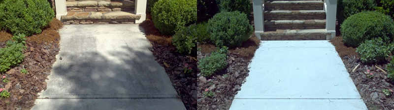 sidewalk cleaning and sealing Charlotte NC