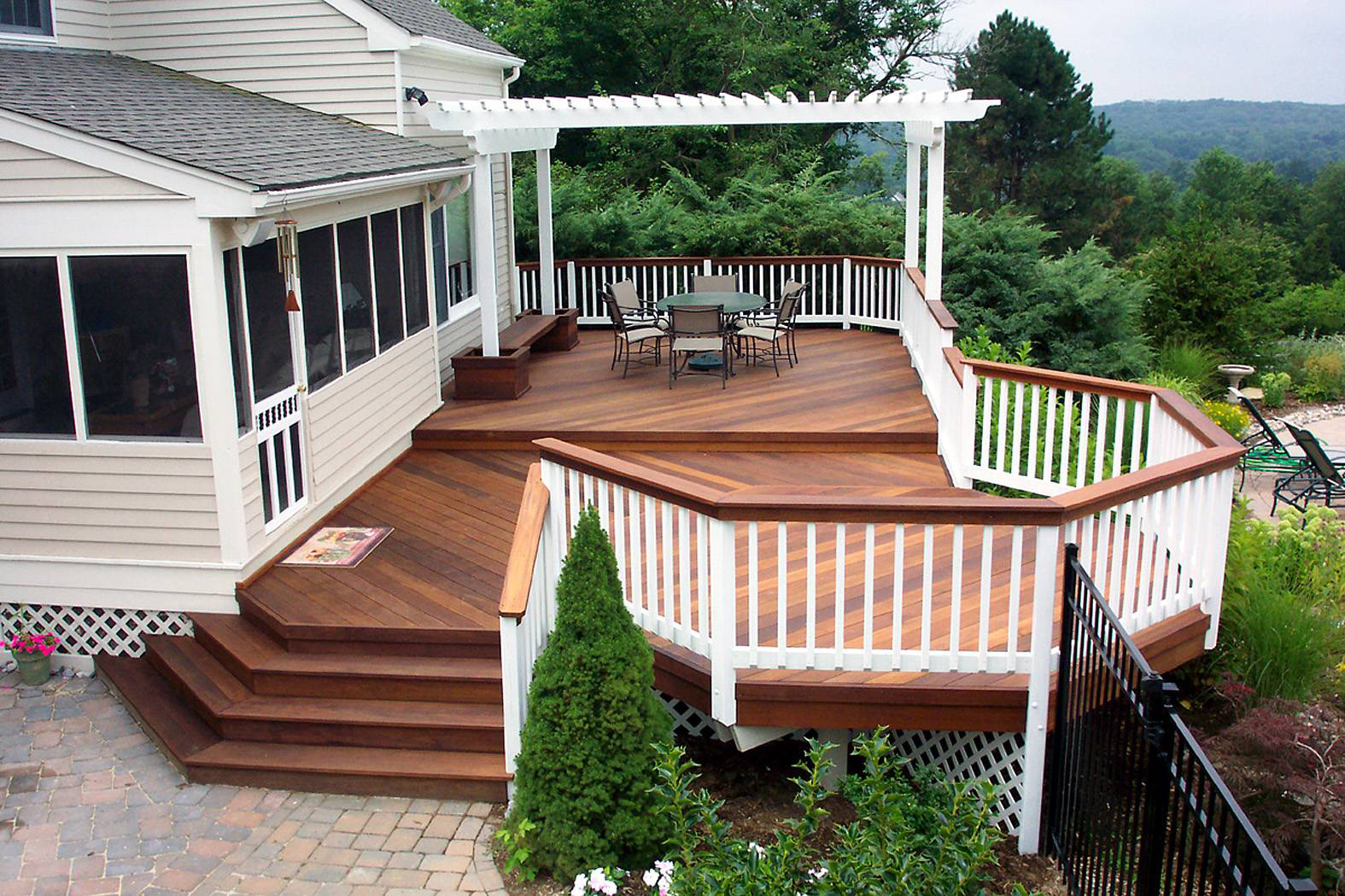 deck ideas. Raleigh-Durham Deck Builder Ideas