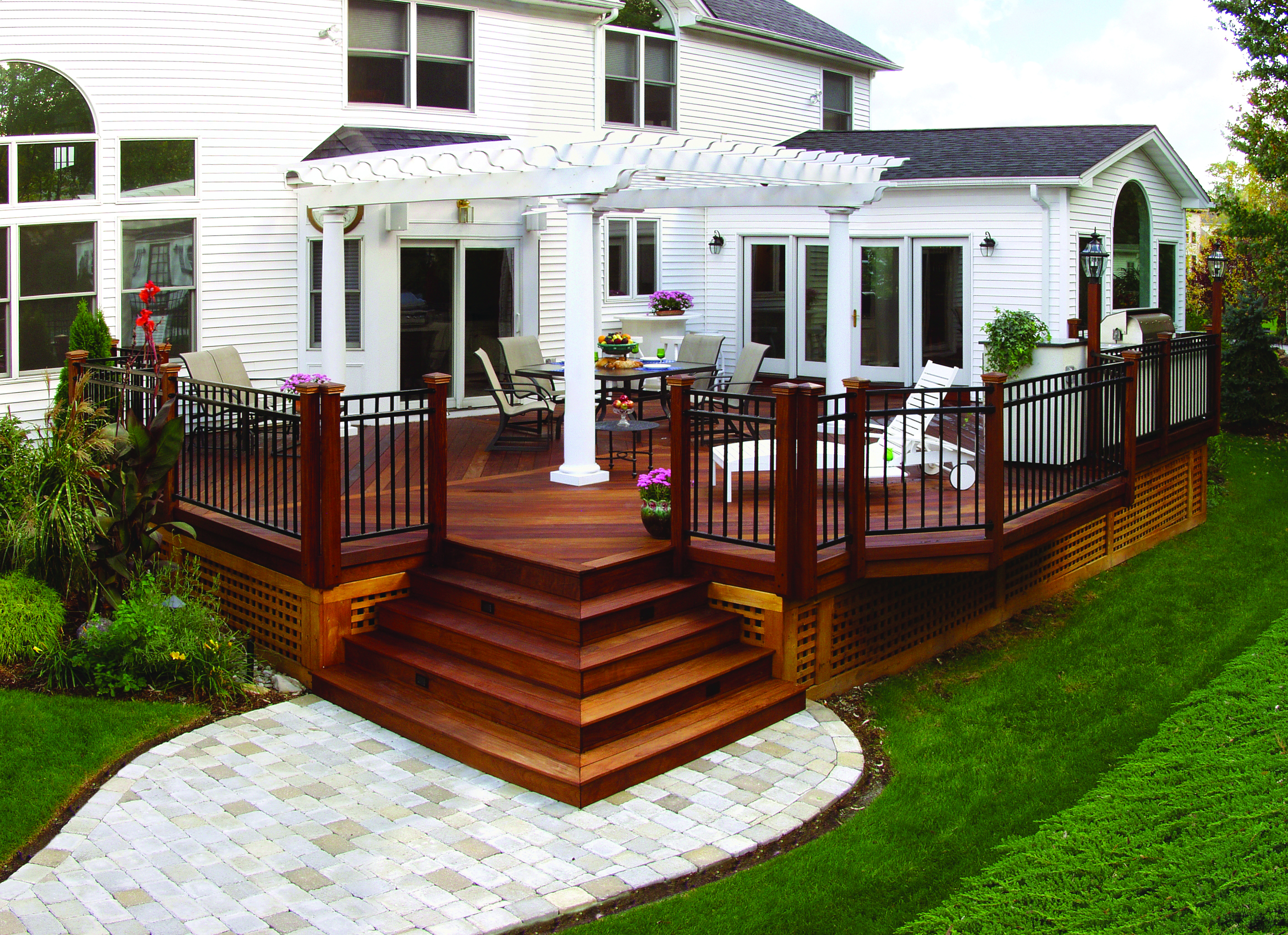 Pergola's make a great addition to any Raleigh deck or patio. on Patio Designs  id=81815