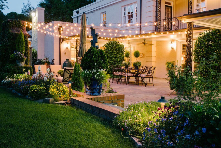 Louisville Landscape Lighting For Parties