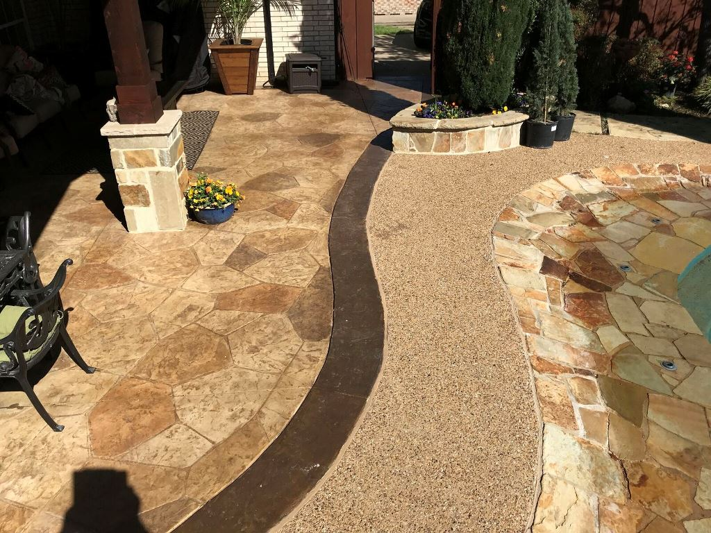 Stain-and-stamp-patio-addition