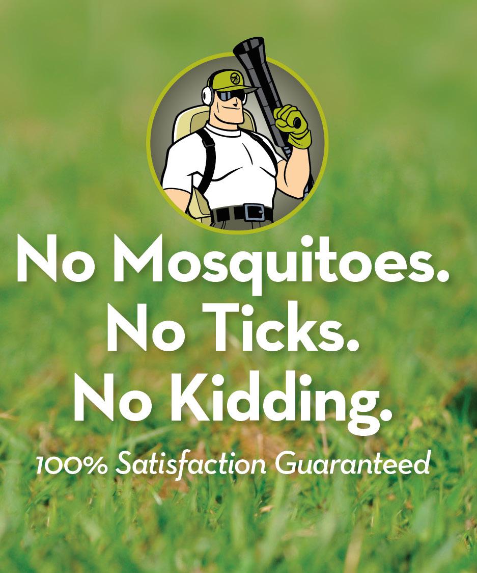No Bugs, No Bites, No Kidding