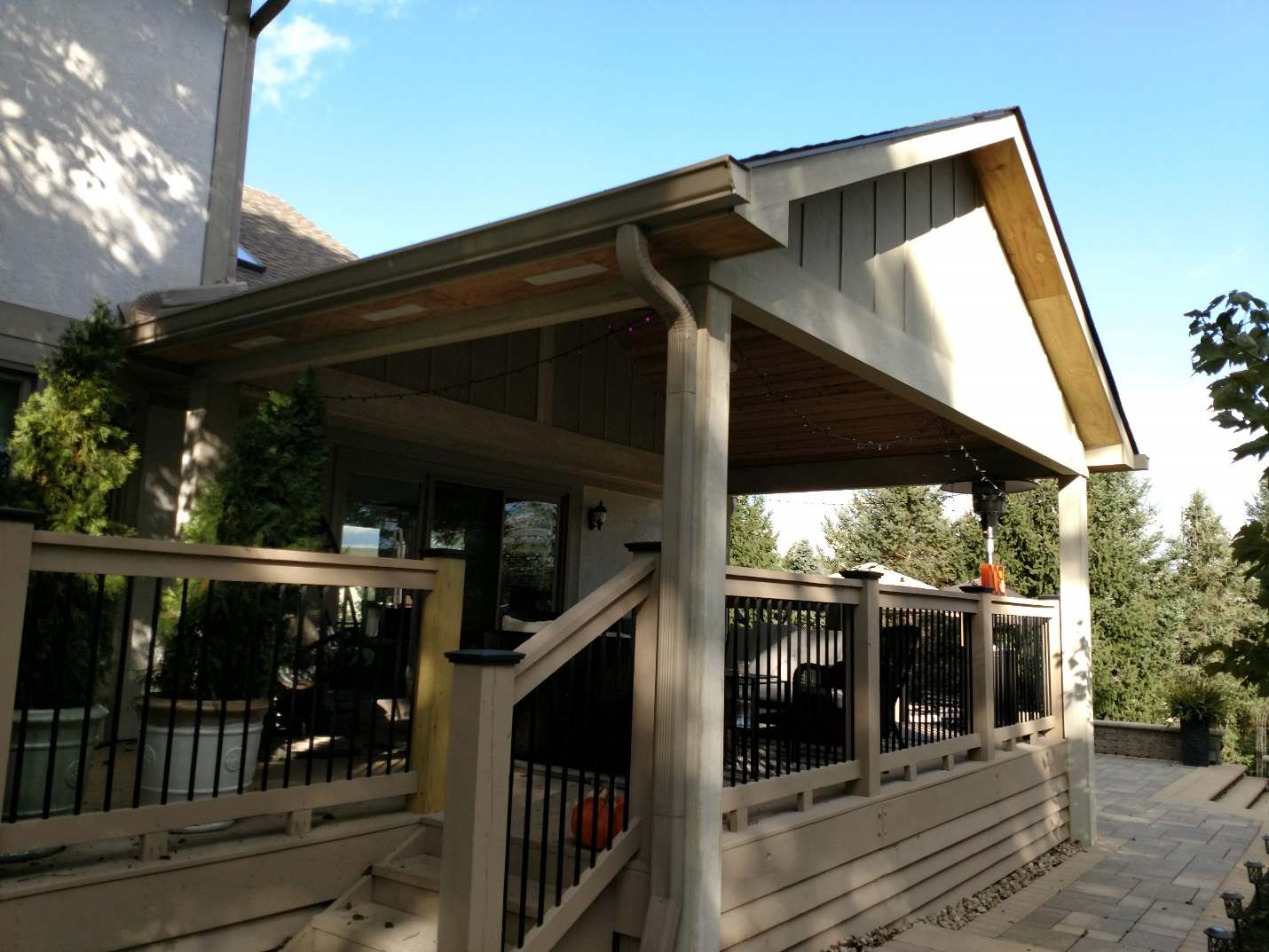 Deck-to-porch-conversion-in-Powell-OH
