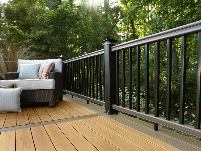 Timbertech Earthwood Evolutions Tropical Pacific Teak And Pacific Walnut