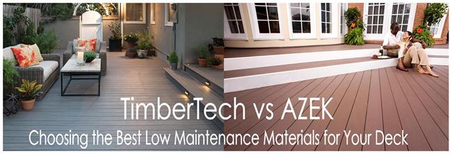 Timbertech Vs Azek Composite And Low Maintenance Decking 2