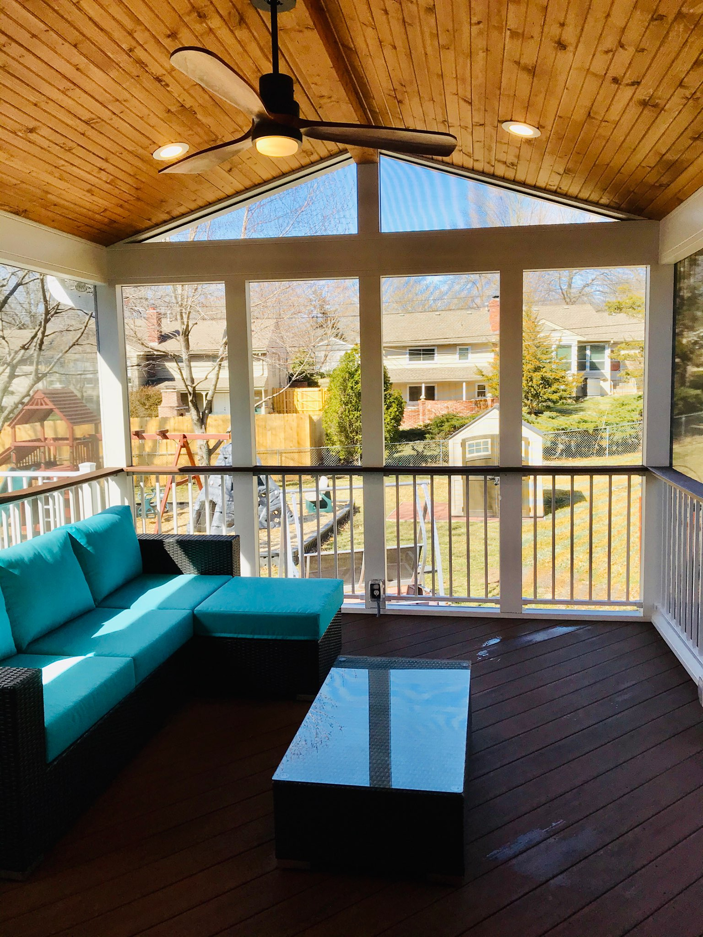 Overland Park porch interior