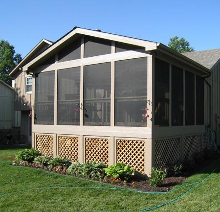 Olathe screened porch