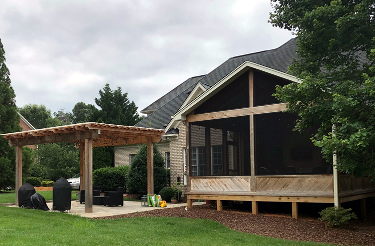 porch builder pergola builder