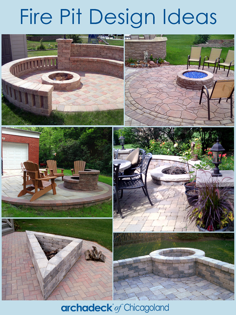 Chicagoland Fire Pit Design Ideas | Archadeck Outdoor Living