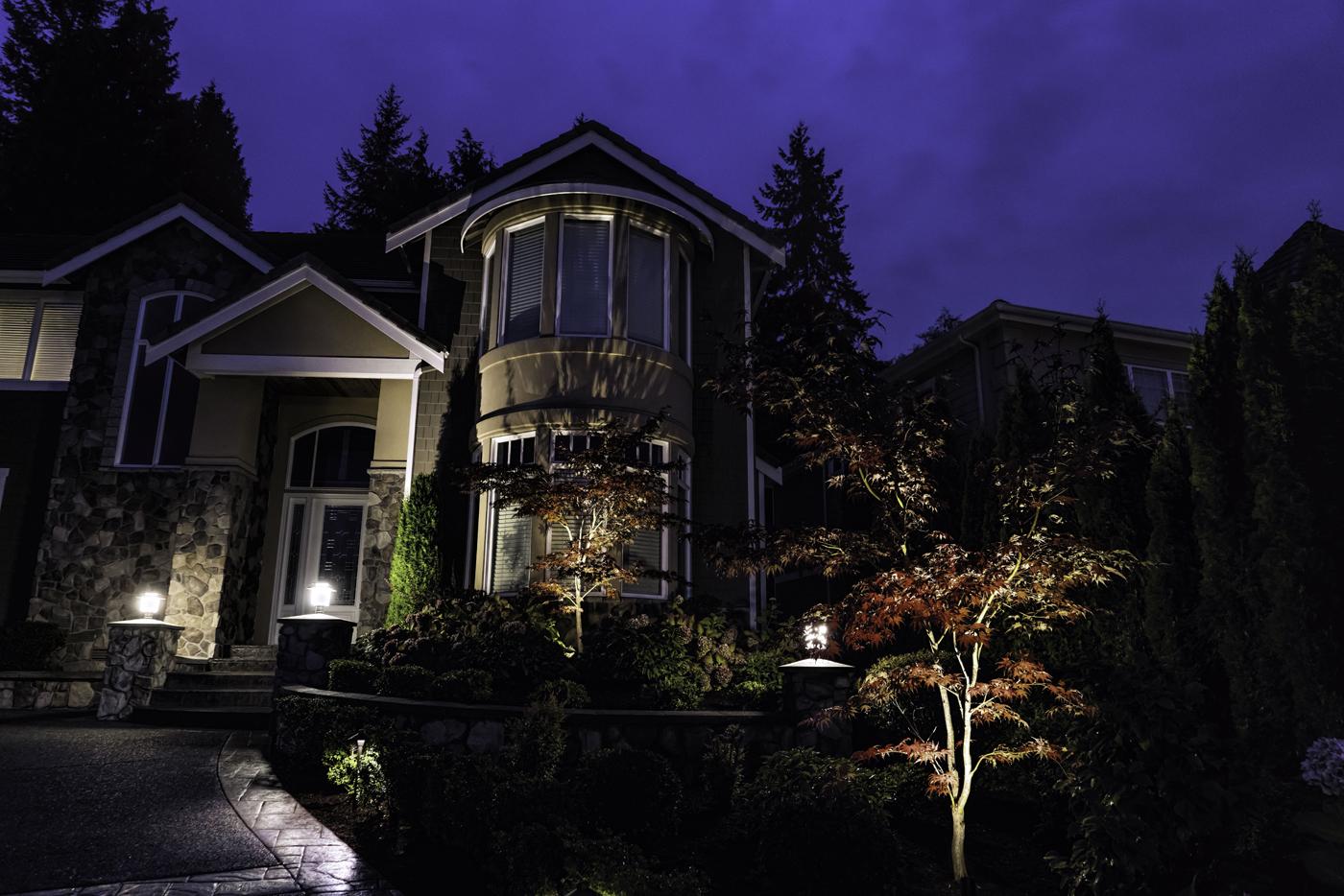 Seattle Landscape Lighting Design