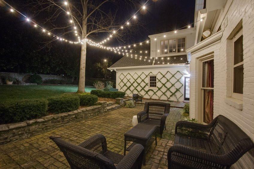 Greenville landscape lighting installation