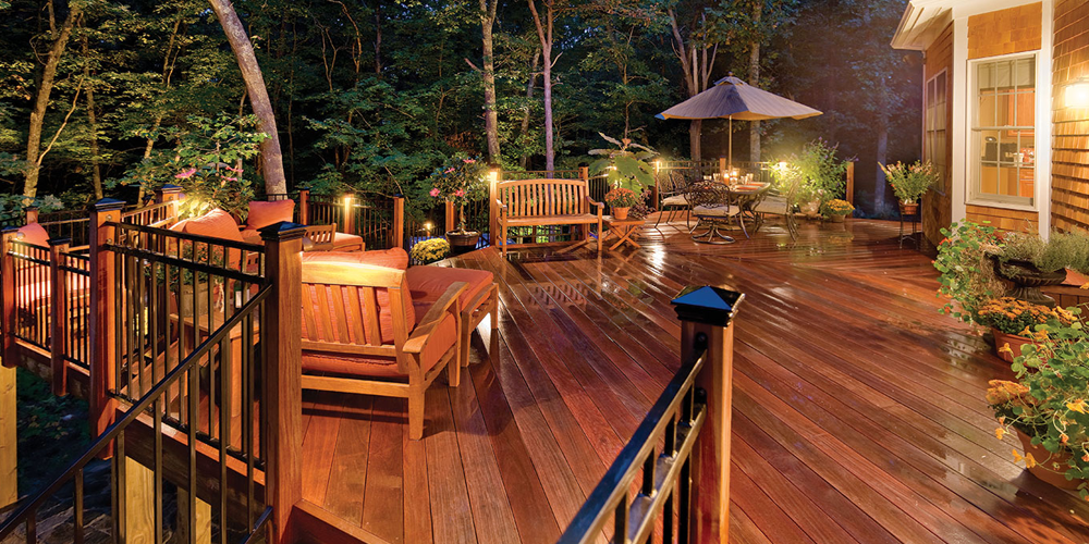 Chapin SC deck lighting