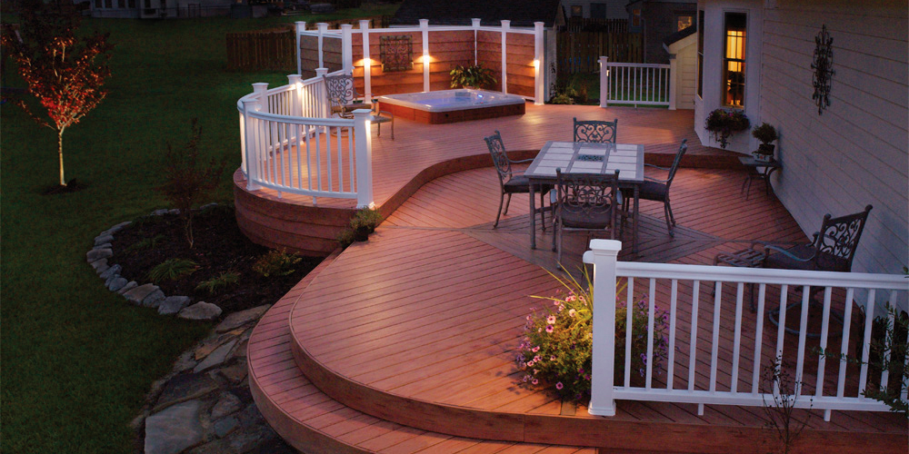deck lighting Chapin SC