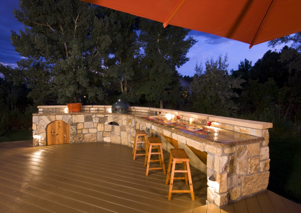 outdoor kitchen roof retractable outdoorkitchentasklightingjpg how to design my dream outdoor kitchen for maximum function