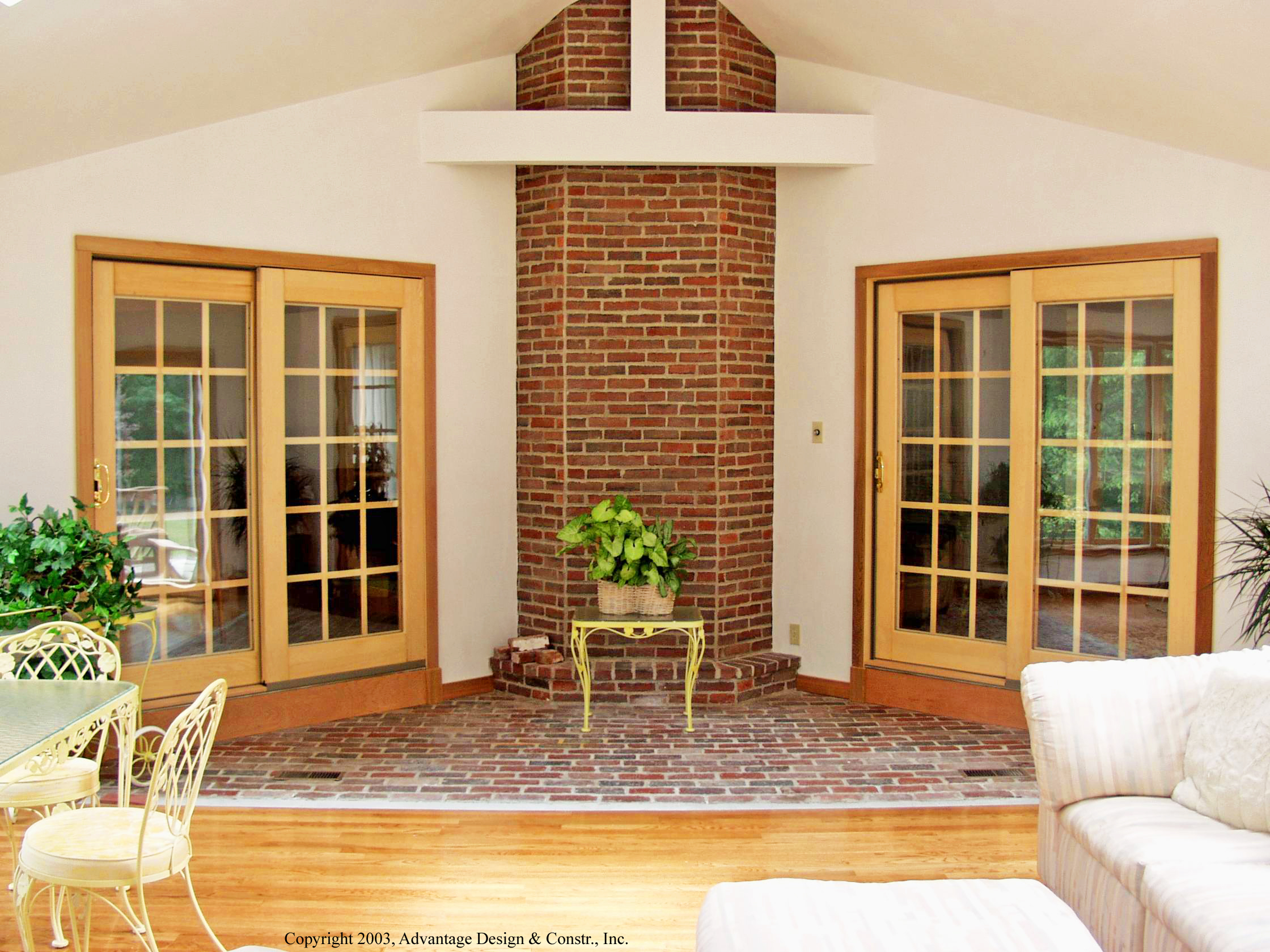 Octagonal Sunroom In Boxford, MA