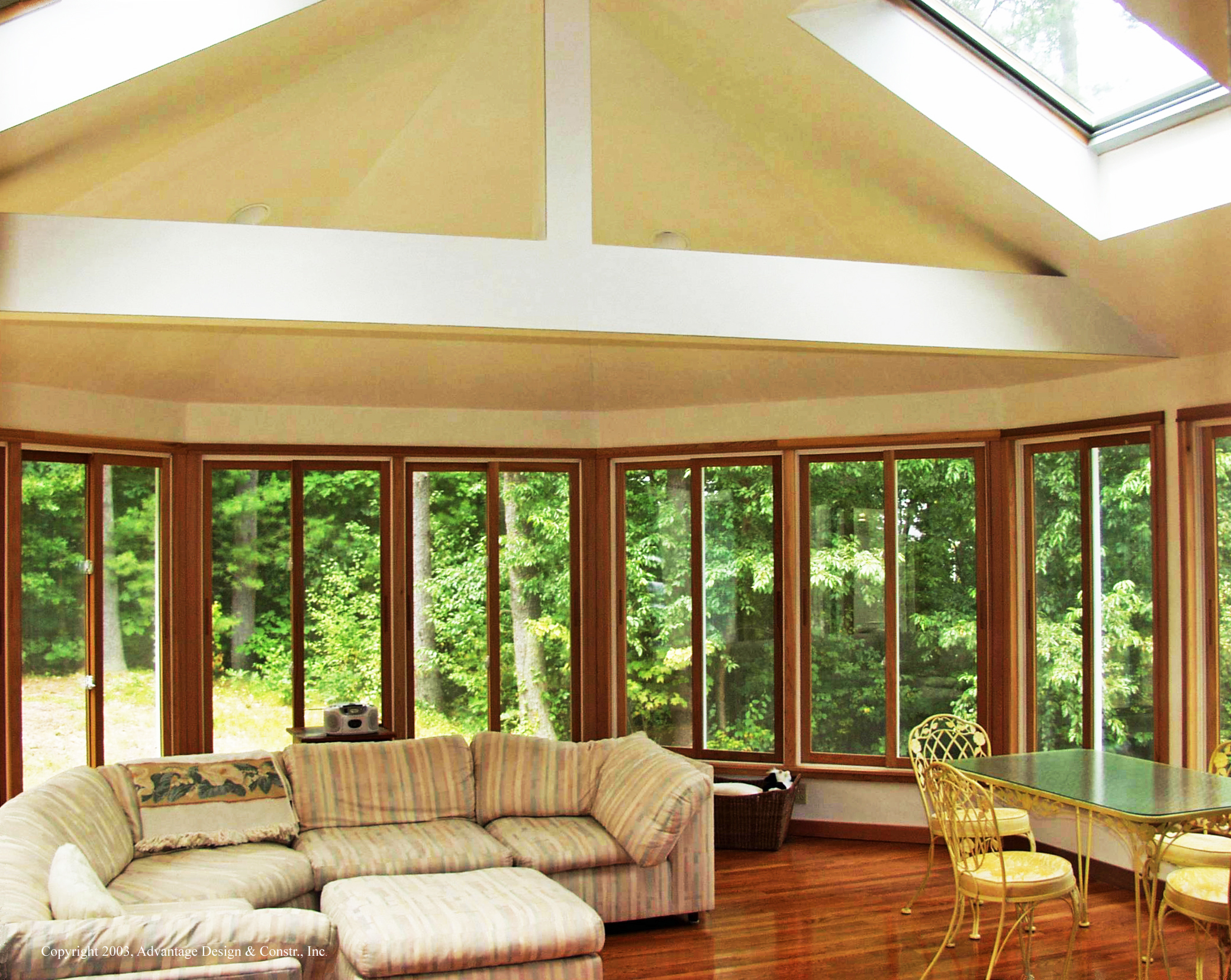 Exceptional Octagonal Sunroom In Boxford, MA