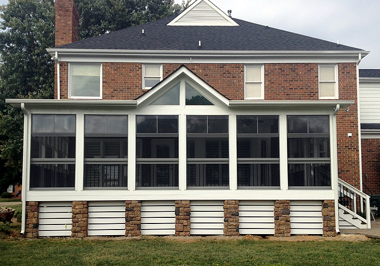 screened porch uses for the holidays