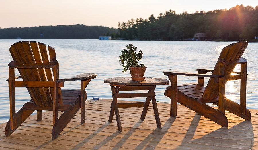 Lake Wylie outdoor living