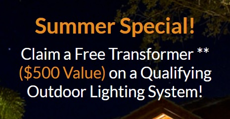 summer outdoor lighting special in Naples