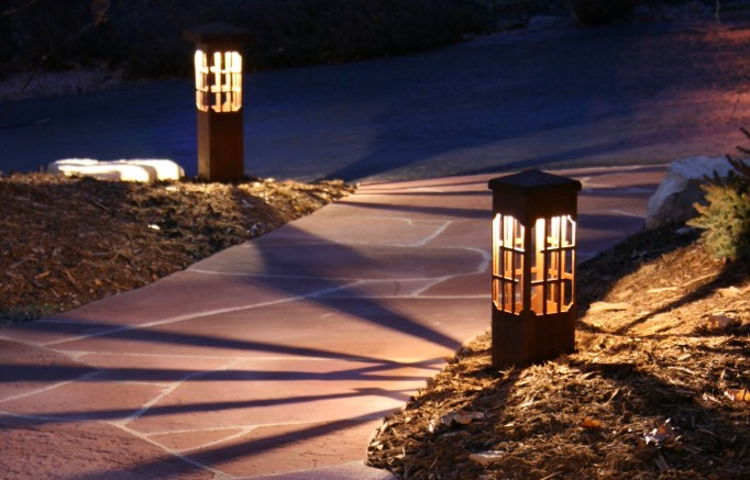 Charlotte landscape lighting when our lighting designer works on a plan for your landscape lighting we will ask what features in your yard you most want to draw attention to at night mozeypictures Image collections