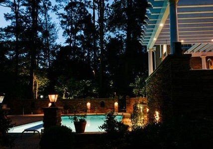 Nashville deck lighting pool deck lighting mozeypictures Image collections