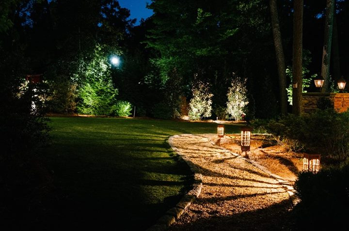 Artistic pathway lighting lighting as pathway lights driveway lights bollards area lights or garden sculptures unlike most common landscape lights these fixtures add aloadofball Images