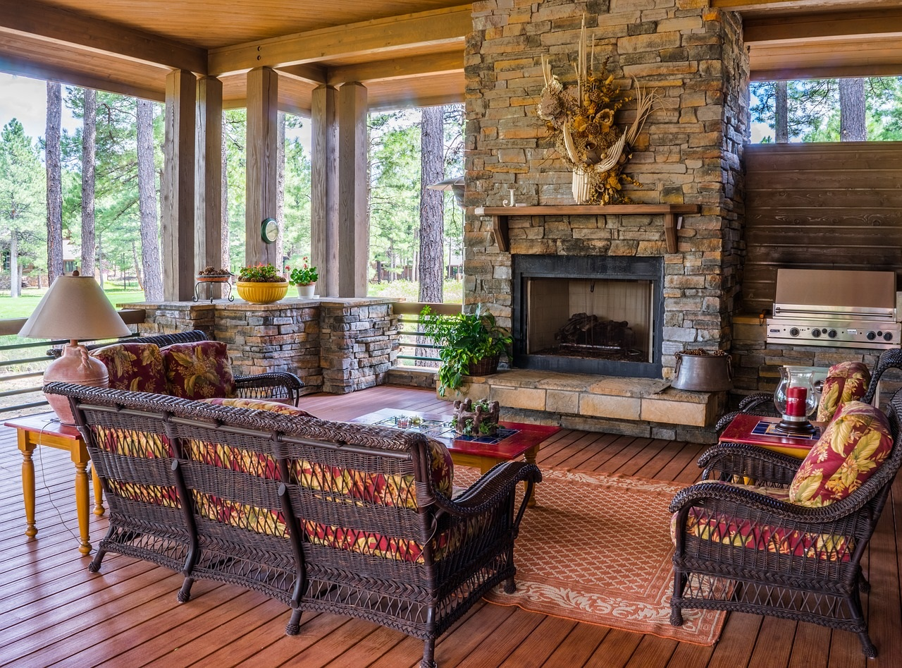 Rustic-touches-add-charm-to-this-porch-design