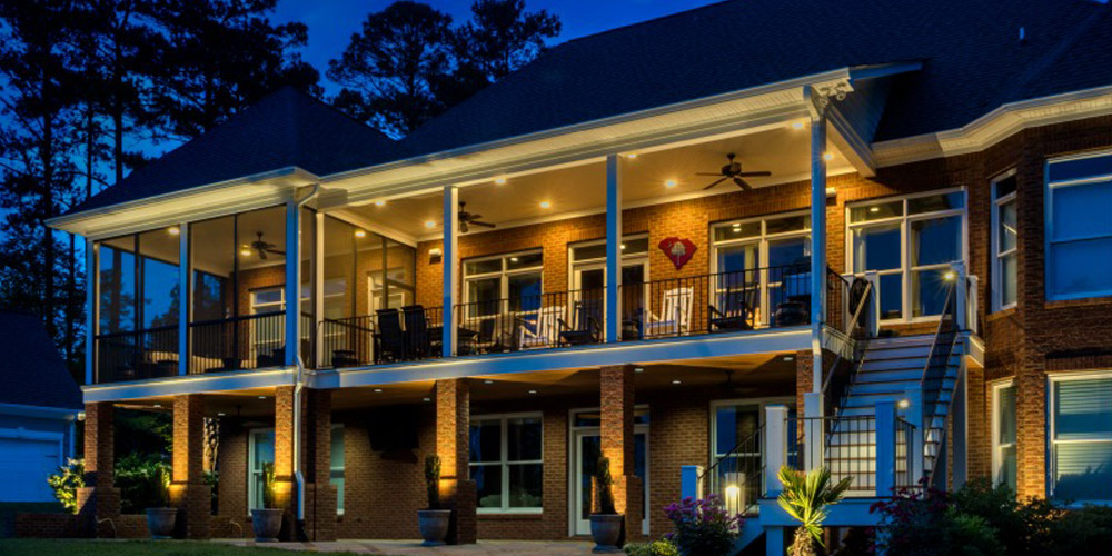 Outdoor lighting williamsburg virginia we cant overstate how dramatically your landscape and architectural faade will be transformed with the right outdoor lighting aloadofball Image collections