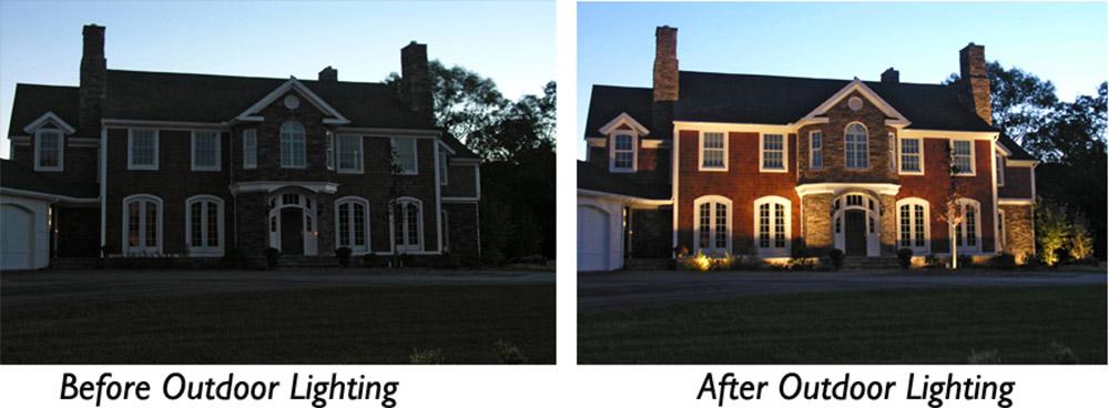 outdoor lighting in Williamsburg VA