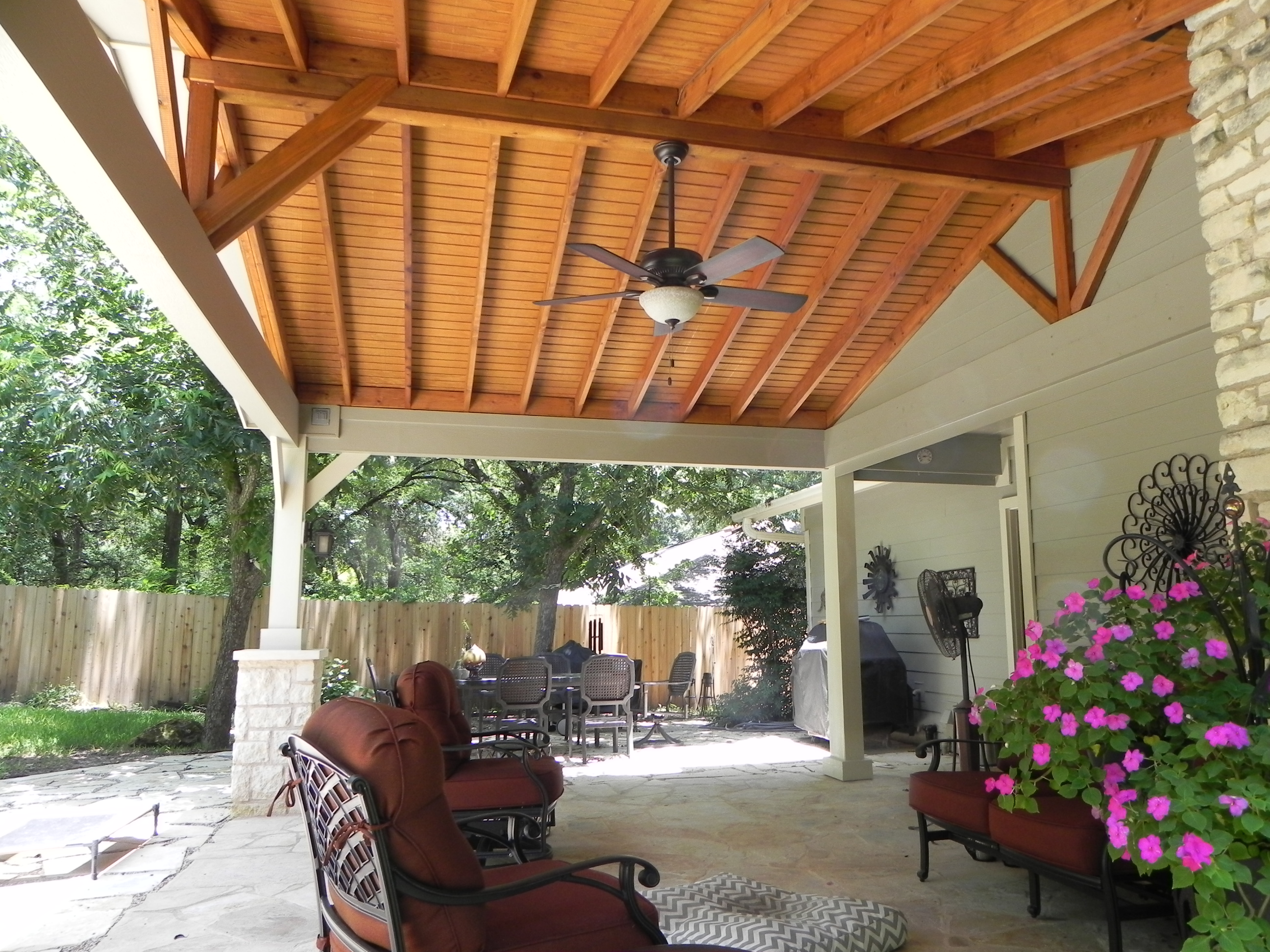Austin porch builder - Covered outdoor living spaces ...