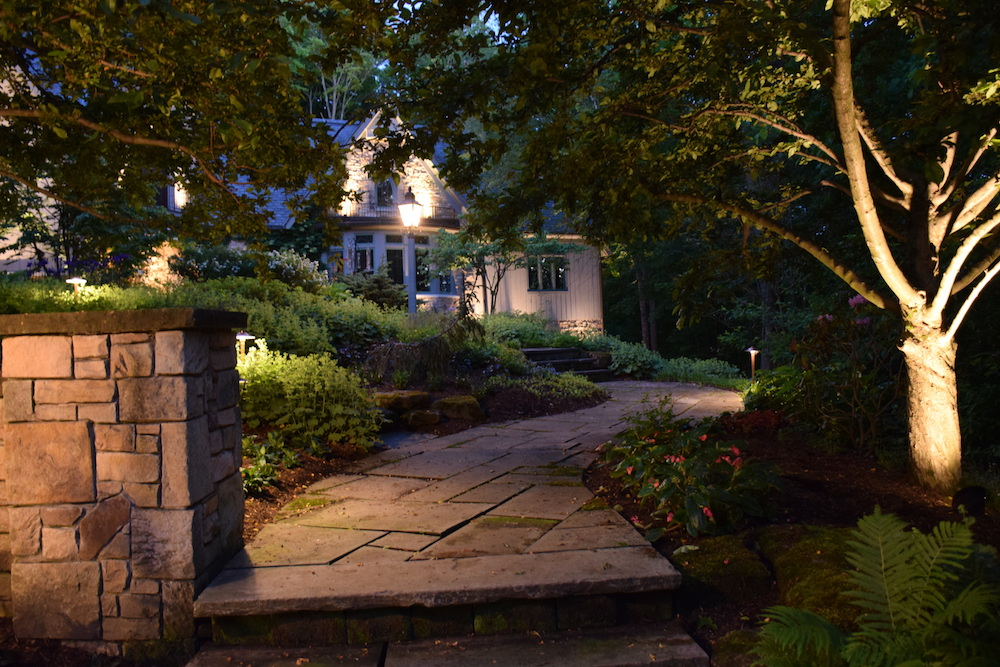 Charlotte landscape lighting design outdoor lighting perspectives when it comes to choosing an outdoor lighting company to illuminate your home it may be tempting to hire your lawn service or even a friend of a friend to aloadofball Image collections