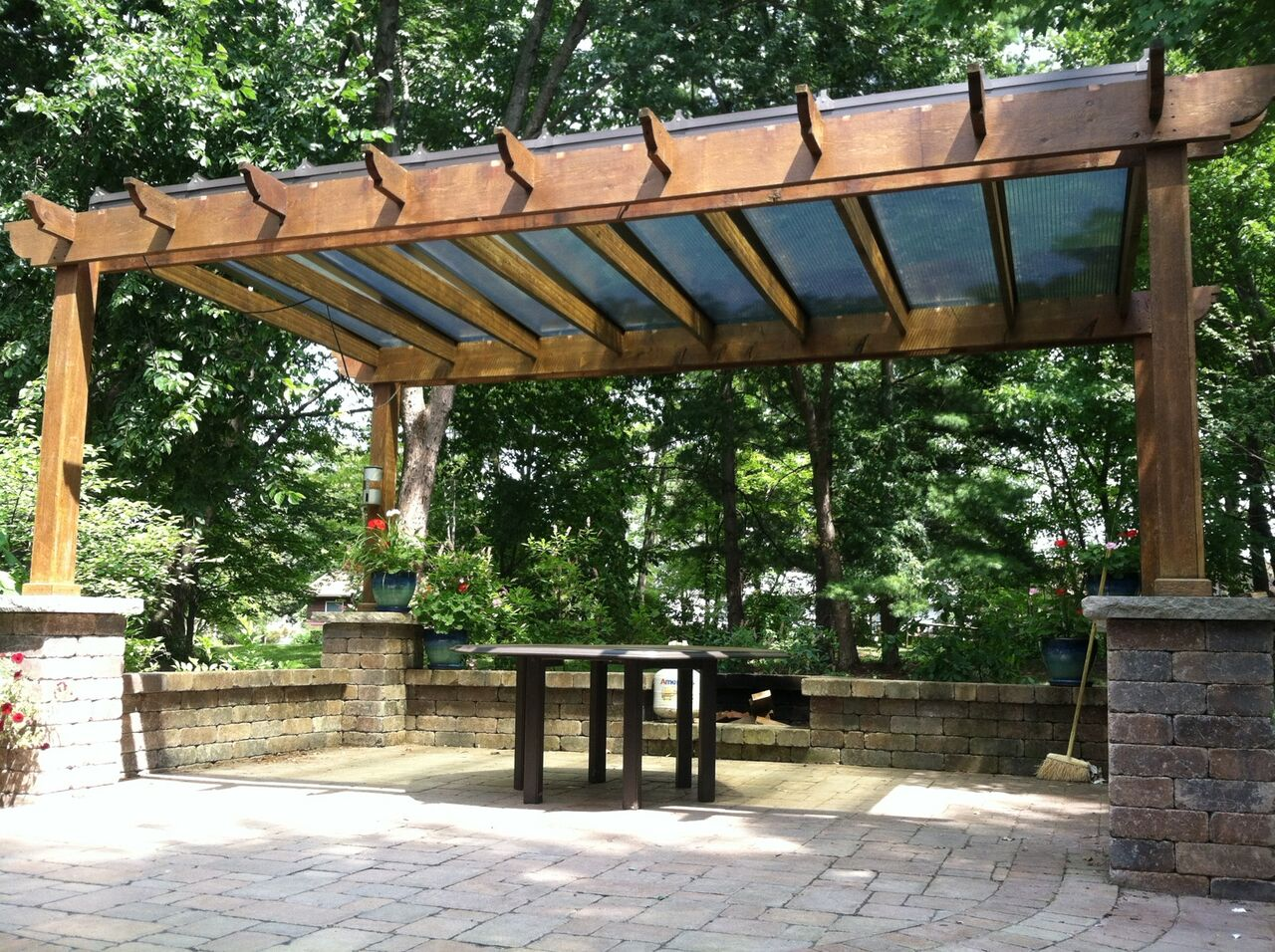 Good With BrightCovers Pergola Covers You Get To Enjoy The Beautiful Design Of A  Classic Pergola, But With The Rain, Snow, And UV Protection Of A Patio Roof.