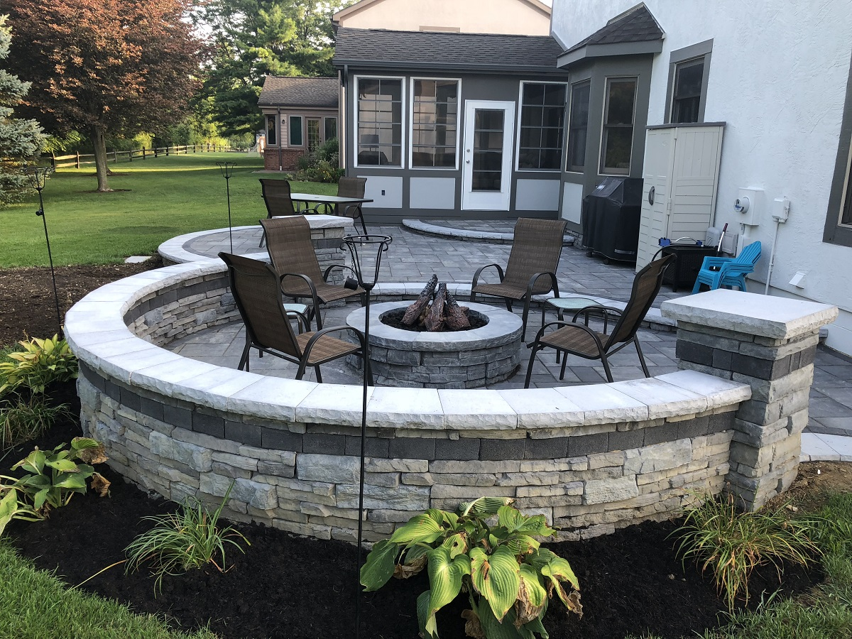 Dublin OH Hardscape & Porch Backyard Transformation by Archadeck of Columbus Thumbnail