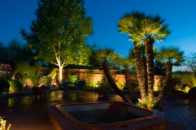 san antonio hill country landscape lighting