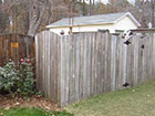 raleigh wood fence cleaning and staining after