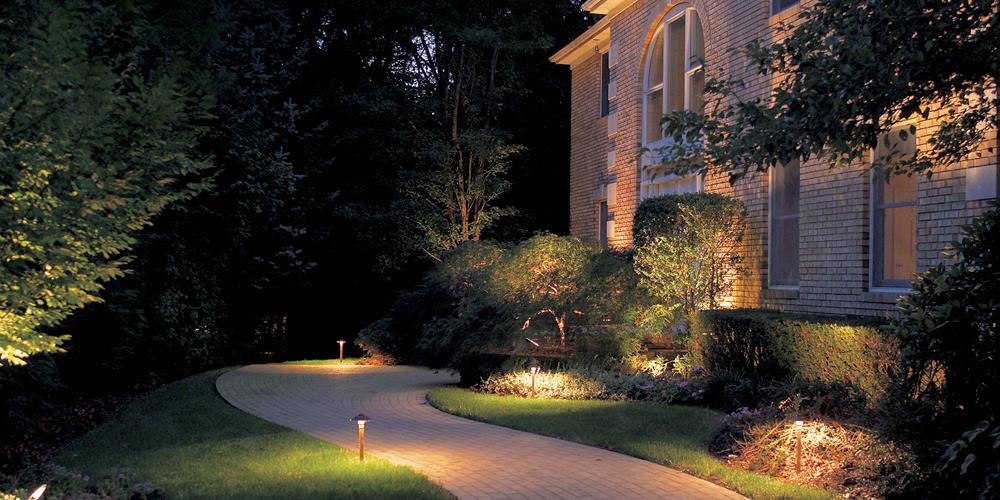 outdoor lighting installation in Portsmouth VA