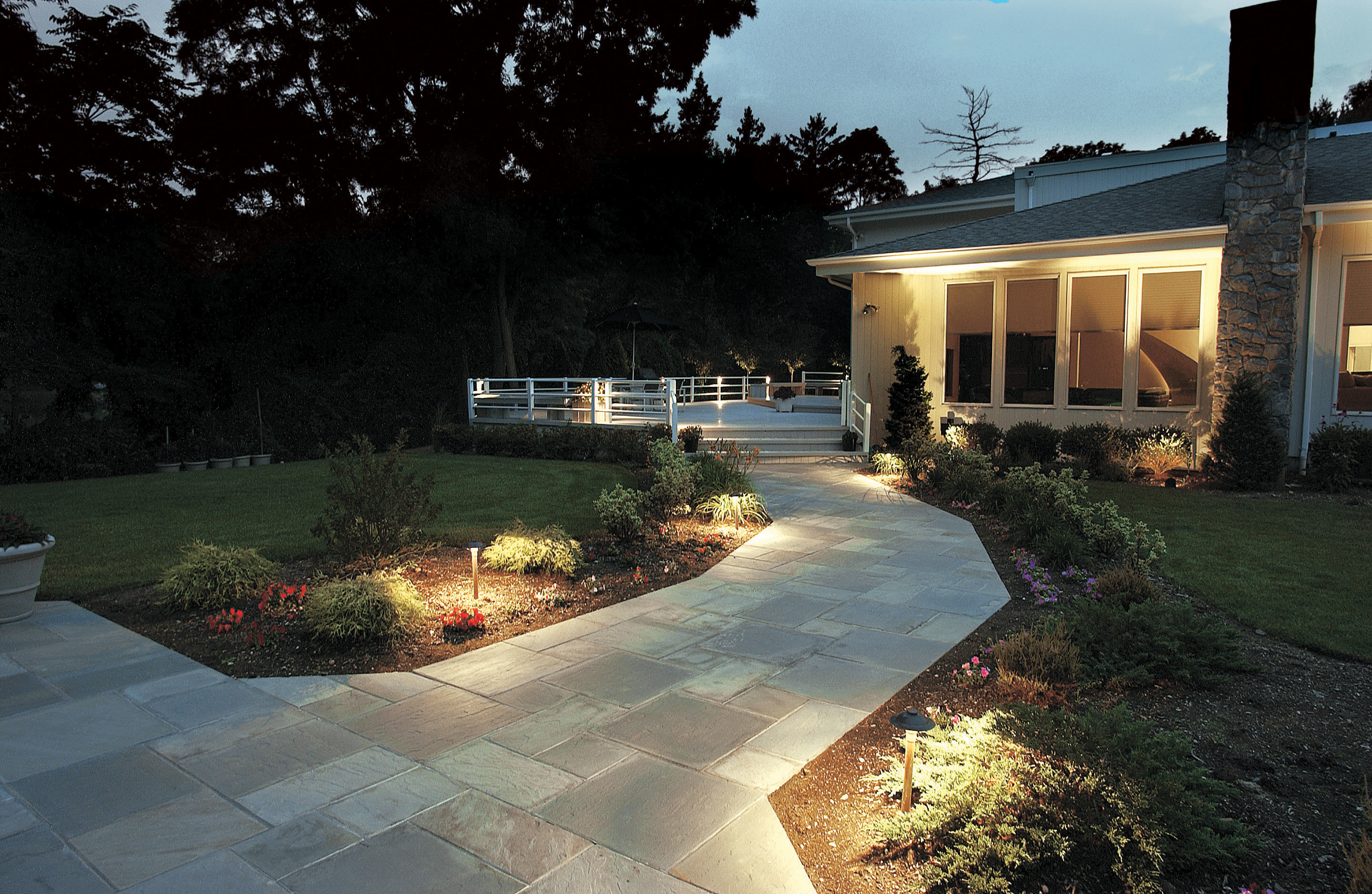 Extend your landscapes appeal after sunset with professional extend your landscapes appeal after sunset with professional outdoor lighting aloadofball Image collections