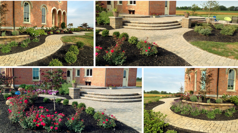 Hardscape and Landscape Addition on Historic London, OH, Home Thumbnail