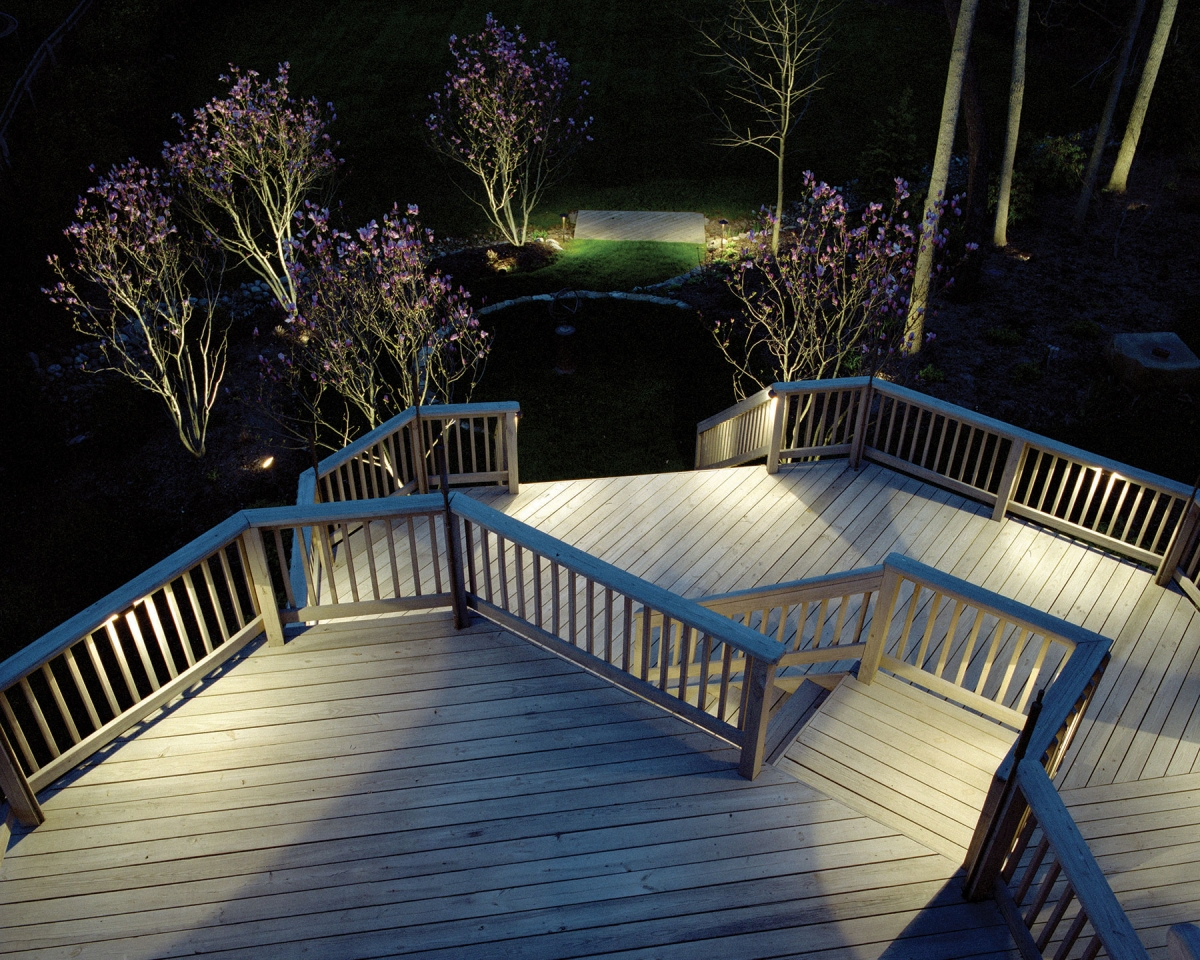 Residential Deck Lighting & Light up Your Outdoor Living Spaces with Our Specialty Lighting