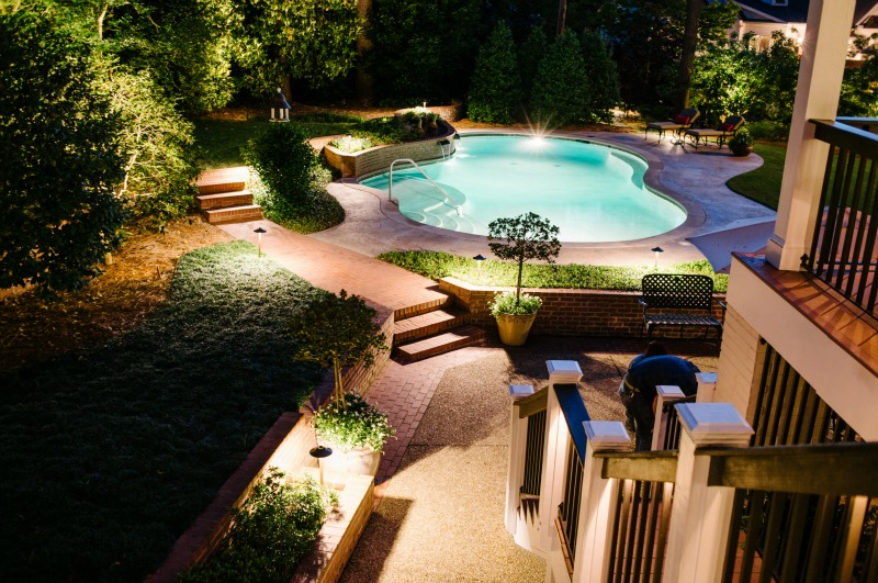 swimming pool lighting options. Pool Lighting Swimming Options