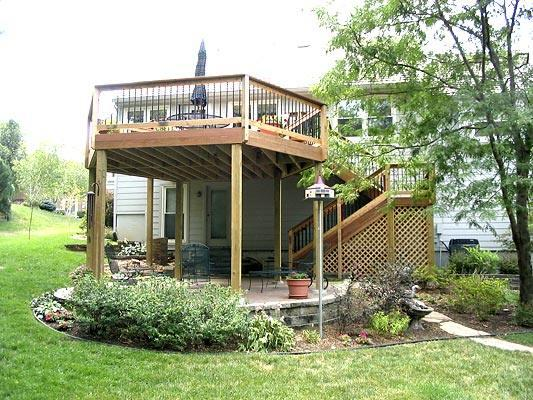 Your Deck Should Be As Unique As Your Home And Should Suit The Way You Want  To Live. This Family Wanted To Be Able To Walk Out To ...
