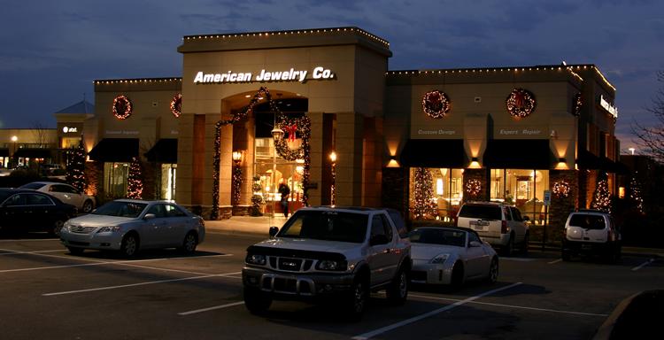 retail Christmas lighting