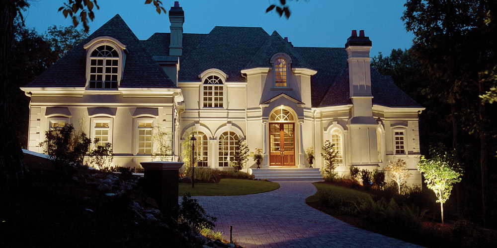 outdoor lighting designer Raleigh NC